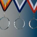 Kristall Medaille