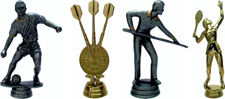 Figuren für Trophäen & Pokale